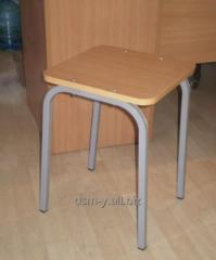 Stools from a thick-walled profile pipe for