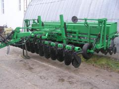 Seeder of GREAT PLAINS of 6 m with introduction of