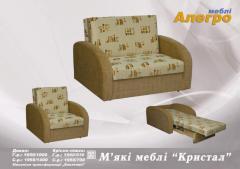 Набор мягкой мебели Кристал