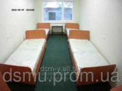 Single beds, hospital beds