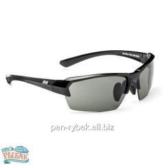 Sunglasses of Optic Nerve Exilis Shiny Black