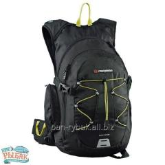 Backpack of Caribee Fugitive 35 Black/Citrus