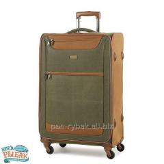Suitcase of Members Boston (L) Olive Green