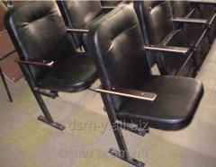 Chairs with a lectern for the assembly hall, a