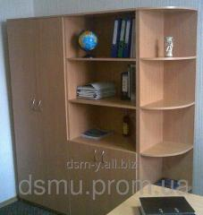 Bookcases, cases for class registers, manuals,