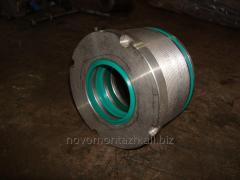 Nuts for hydraulic cylinders of a high pressure