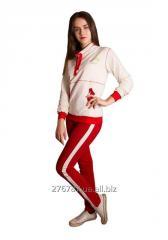 Trousers sports narrow T-9, XXS, XS, S, M, L sizes