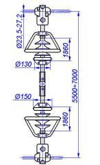 RMI 220-1 struts