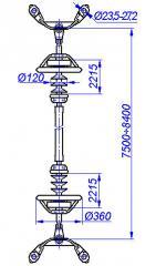RMI 330-3 struts