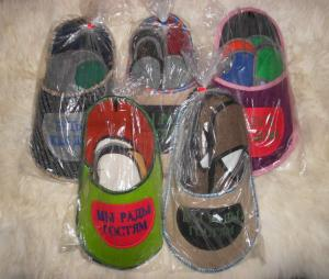 Slippers guest set of 5 couples