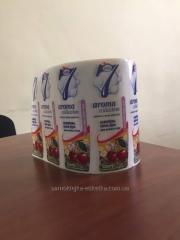 Этикетка на подарочную упаковку для кофе, Украина