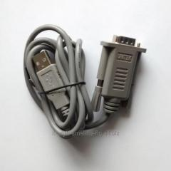 RS232-USB adapter.