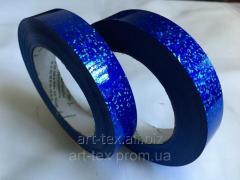 """Лента флористическая """"Lazer 2/50"""" синий"""