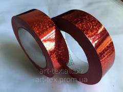 "Tape floristic ""Lazer 3/50"" red"