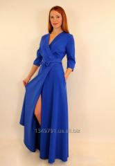 Long dress coat with a smell 44-50 r