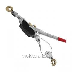 Winch of lever 2 t, 2 provisions, cable of 4,5 mm