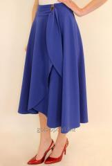 Elegant skirt of a midi on a smell 44-52 r