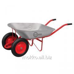 The wheelbarrow is garden and construction, 65 l.,