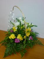 Bouquet of flowers with delivery