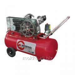 Compressor of 100 l, 4 HP, 3 kW, 220 V, 8 atm, 500