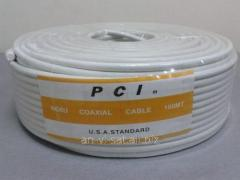 Coaxial PCI/40 cable of % (100 m)
