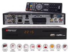 "HD receiver of ""opticum sloth"