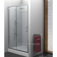 Shower doors of Varia 120x190 graphite