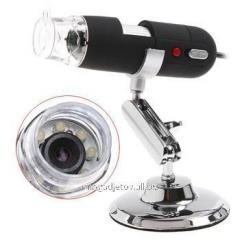 Portable 2 megapixel USB a microscope with