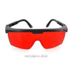 Inexpensive goggles for protection of eyes against