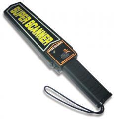 Manual metaldetector, Super Scanner metal