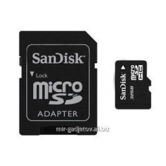 Micro SD memory card of 32 GB Class 10