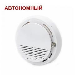 The independent sound fire alarm system on a