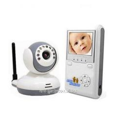 The wireless video nurse with 2.4 monitor and