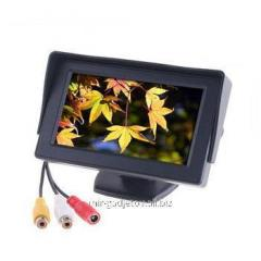 The LCD monitor 4.3 automobile the 2nd channel for