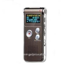 Профессиональный цифровой диктофон с 4 Gb памяти, MP3 плеером, LCD монитором и возможностью записи с телефонной линии VR-0028. Код товара: 00852