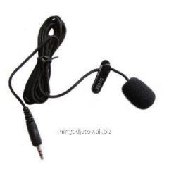 Внешний высокочувствительный Мини микрофон с клипсой, для диктофонов и компьютеров. Код товара: 01145