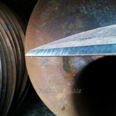Заточка дисковых ножей борон (лущильников)