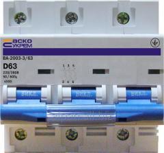 Выключатель автоматический ВА-2003 3р
