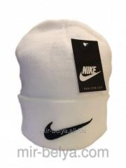 Nike cap Nike winter man's female white 01,