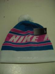Men's Nike cap warm with a bubo a white top,