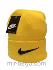 Nike cap Nike winter man's female yellow,