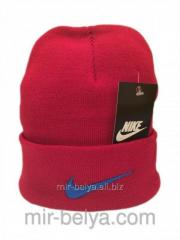 Nike cap Nike winter man's female red 01,