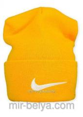 Nike cap Nike winter orange, art.169815400