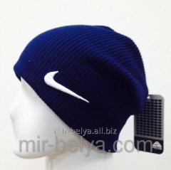 Cap sports man's Nike of stockings blue,