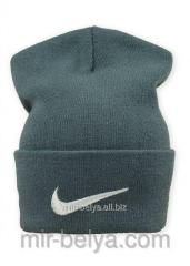Nike cap Nike winter man's female dark gray,