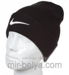 Nike cap Nike winter man's female black 02,
