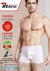 Man pants shorts white indena 5347, art.38333971