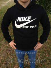 Kengurushka man's Nike sports jacket black,