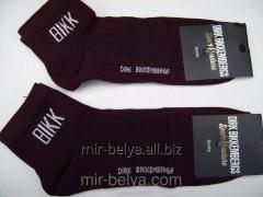 Men's sports Dirk Bikkembergs socks claret,