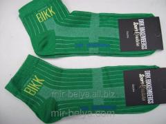 Men's sports Dirk Bikkembergs socks green,